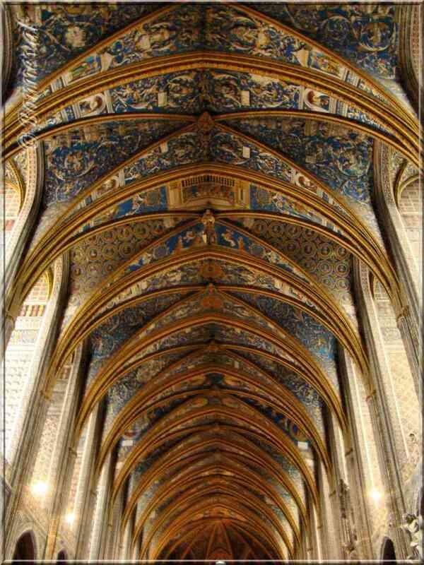 Cathédrale Sainte-Cécile d'Albi Grande Voûte de la Nef