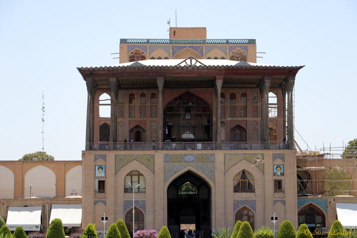 Le Palais d'Ali Qapu, Ispahan