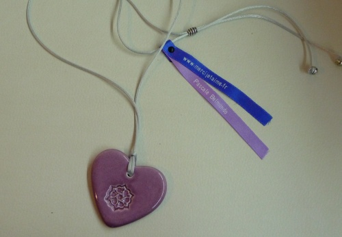 """Les pendentifs """"Amour et gratitude"""""""