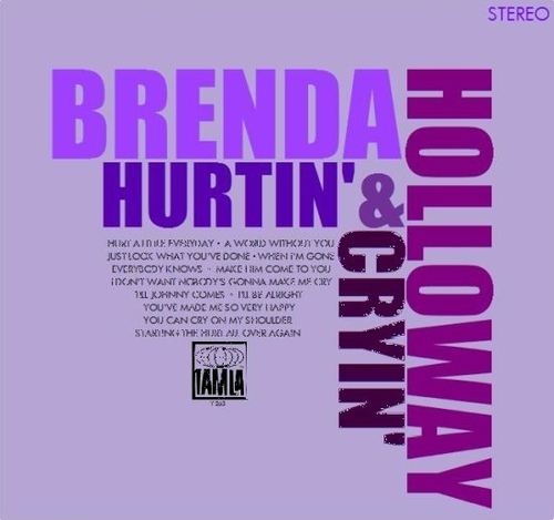"Brenda Holloway : Album "" Hurtin' & Cryin' "" Tamla Records TS 263 [ US ] Unissued"
