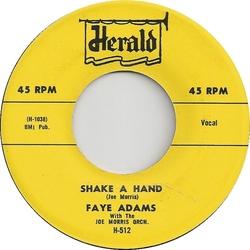Faye Adams : Shake A Hand (1953)