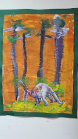 Dinosaures et histoire de l'art !