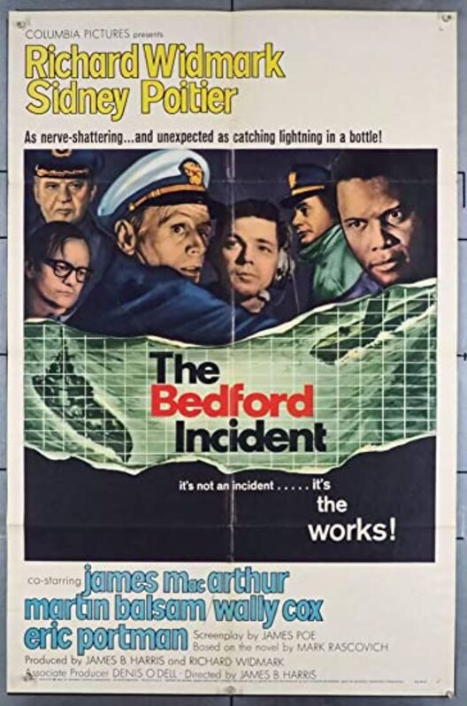 THE BEDFORD INCIDENT BOX OFFICE USA 1965