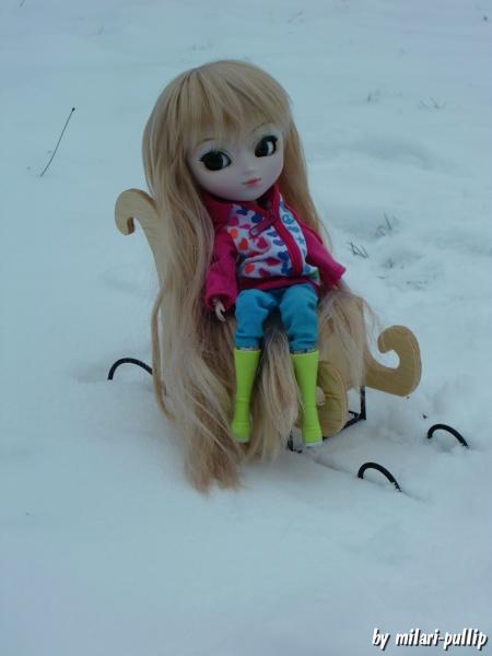 Séance photo 9 : Dans la neige