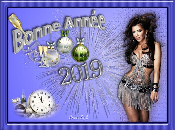 Bonnes fêtes de fin d'année et meilleurs voeux pour 2019