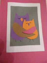 Cadeau et carte de fête des mères : c'est chouette !