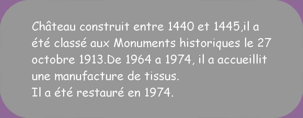 CHÂTEAU DE POSANGES (CÔTE D'OR)