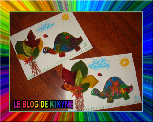 Petite tortue d'automne