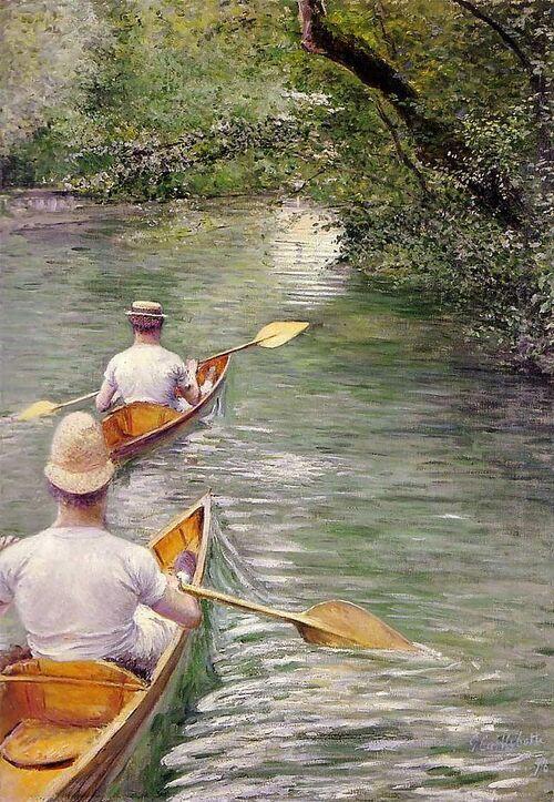 Peinture de : Gustave CAILLEBOTTE