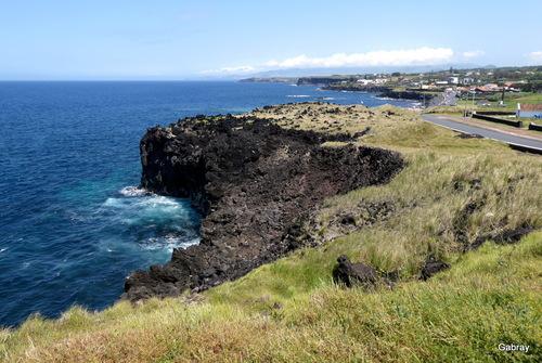 Açores: paysages de l'île saint Michel n7a