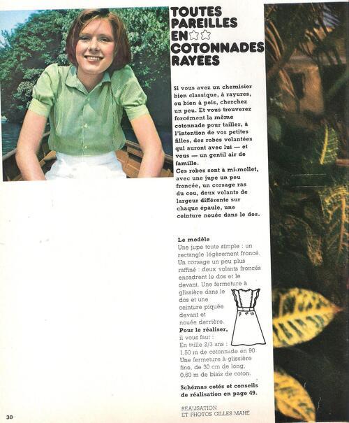 Robes d'été pour les mini moi de 2 - 3 ans