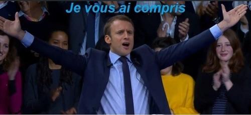 La trahison de monsieur Macron qui blesse