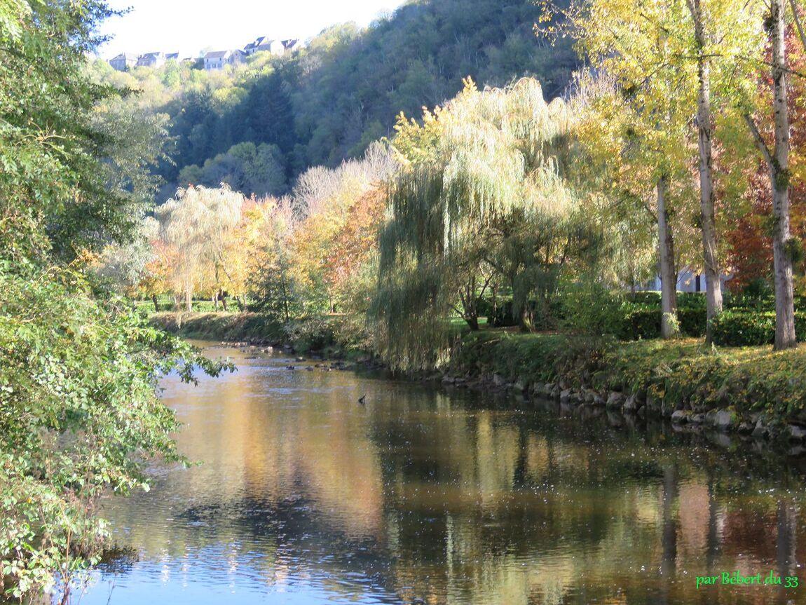 Reflets sur l'Aveyron