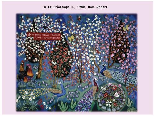 Le printemps vu par les grands peintres