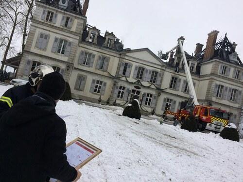 Le château de Divonne les Bains