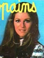 1976, tunique à fleurs