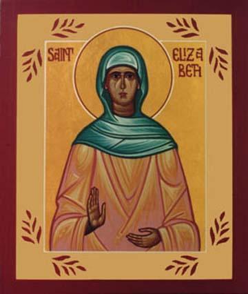 Sainte Elisabeth, Mère de Saint Jean-Baptiste