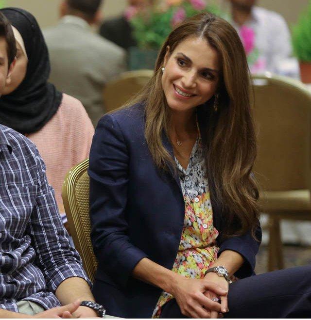 Rania et les volontaires
