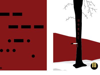 Affiches finales minimalistes Morse ENAAI Sept2017