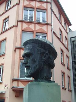 Johannes Gensfleisch , genannt Gutenberg