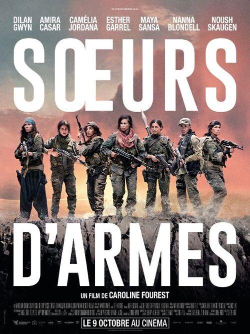 Découvrez un premier extrait percutant de SŒURS D'ARMES de Caroline Fourest ! Le 9 octobre 2019 au cinéma