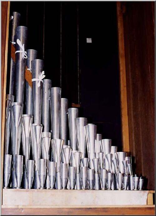 Histoire des orgues de l'Eglise Ste Chantale.............
