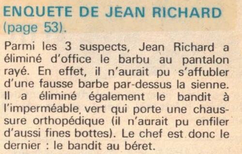 enquête de Jean Richard n° 61
