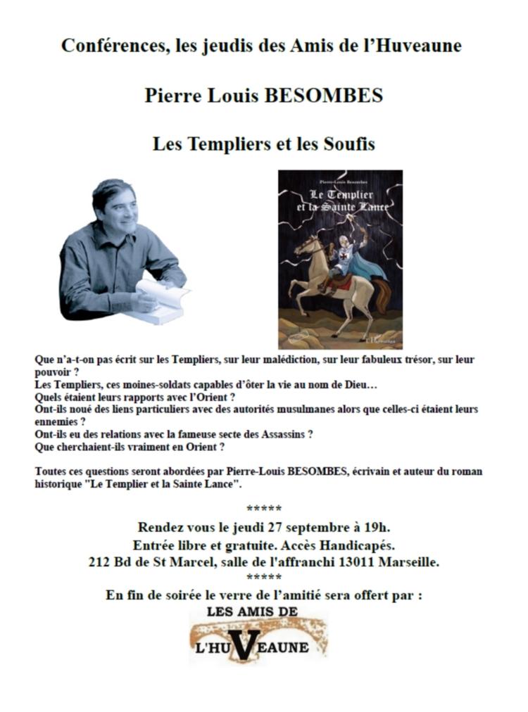 Conférence, Les Templiers par P.L BESOMBES