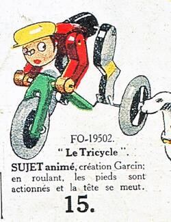 Z tricycle garcin jo test