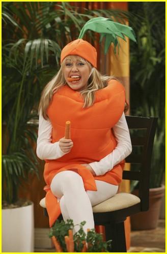 Hannah Montana En Carotte Géante