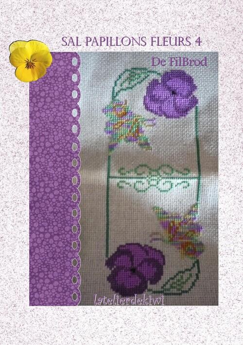 Sal papillons fleurs 4