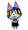 Momo animal crossing WII