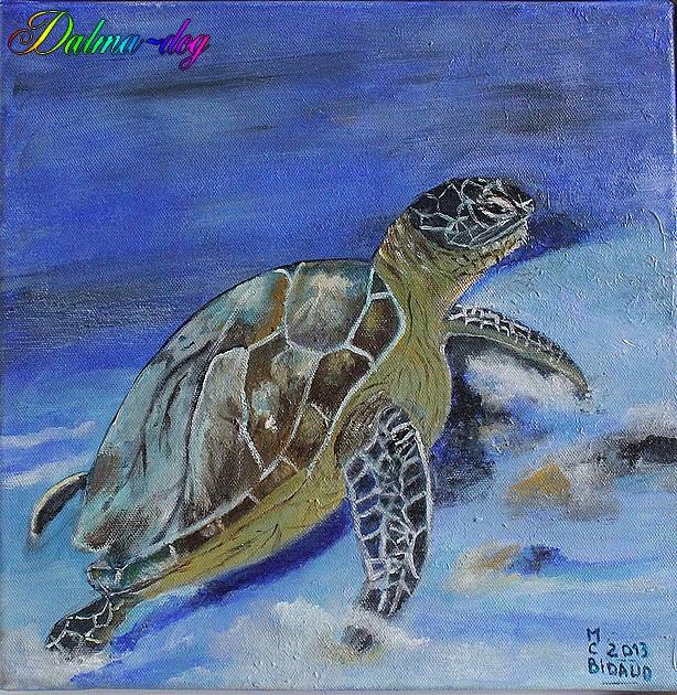 tableau fait par ma tante Marie-Christine