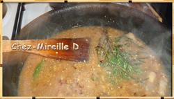 Cuisses de Lapin à la Moutarde et aux Champignons