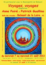 Poiré Guallino expo Belmont de la Loire 2013