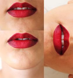 L'ombré lips nouvelle tendance ?