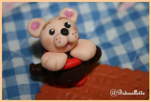 Tea Time with Teddy bear !!