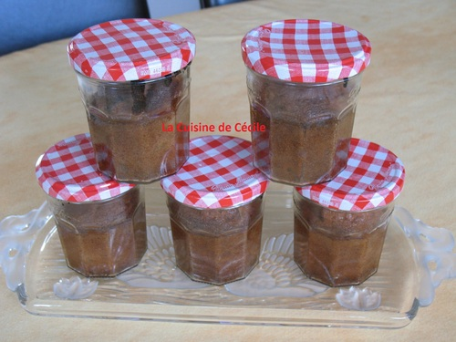 Cake aux fruits secs en pot