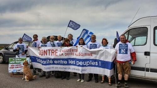 Partie de la Pointe du Van, leur caravane roule vers Athènes (OF.fr 4/10/2016)