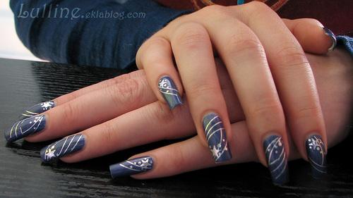 Nail Art - Etoiles Filantes