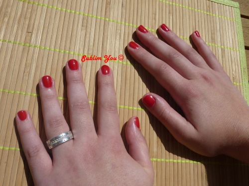 Big Apple Red gel color