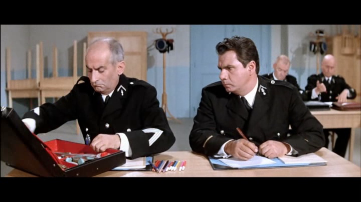 LE GENDARME SE MARIE - BOX OFFICE LOUIS DE FUNES 1968