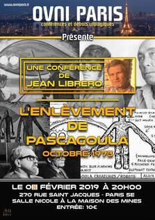 Le 08 Février 2019, Jean Librero en conférence à Ovni Paris