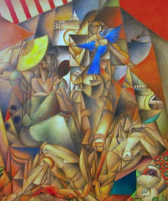 Jean Metzinger, L'oiseau bleu