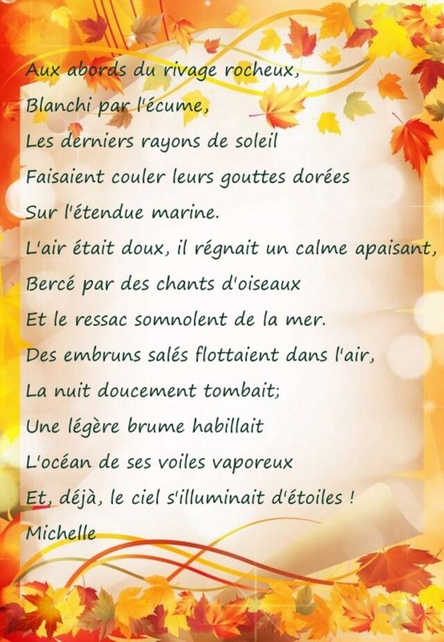 Mon poème