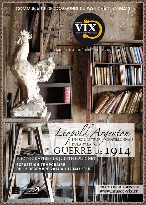 """""""Eloge du souvenir..."""", une remarquable exposition sur le sculpteur Léopold Argenton, présentée au Musée du Pays Châtillonnais-Trésor de Vix"""