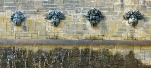 Sceaux mascaron fontaine Rodin 90800