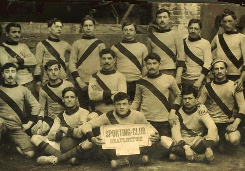 LE SPORTING CLUB GRAULHETOIS en 1912....la photo