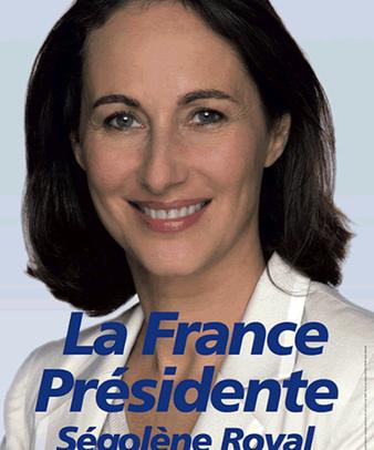 Affiche de Ségolène Royal