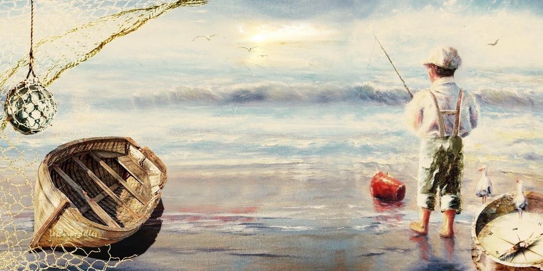 Grands fonds thème la mer, Le petit pêcheur